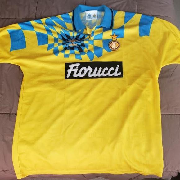 check out b95a0 b8f0b Inter Milan 3rd Shirt 1991/92 X-Large Rare/Vintage